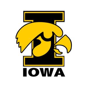 Iowa Hawkeyes Logo Clipart.