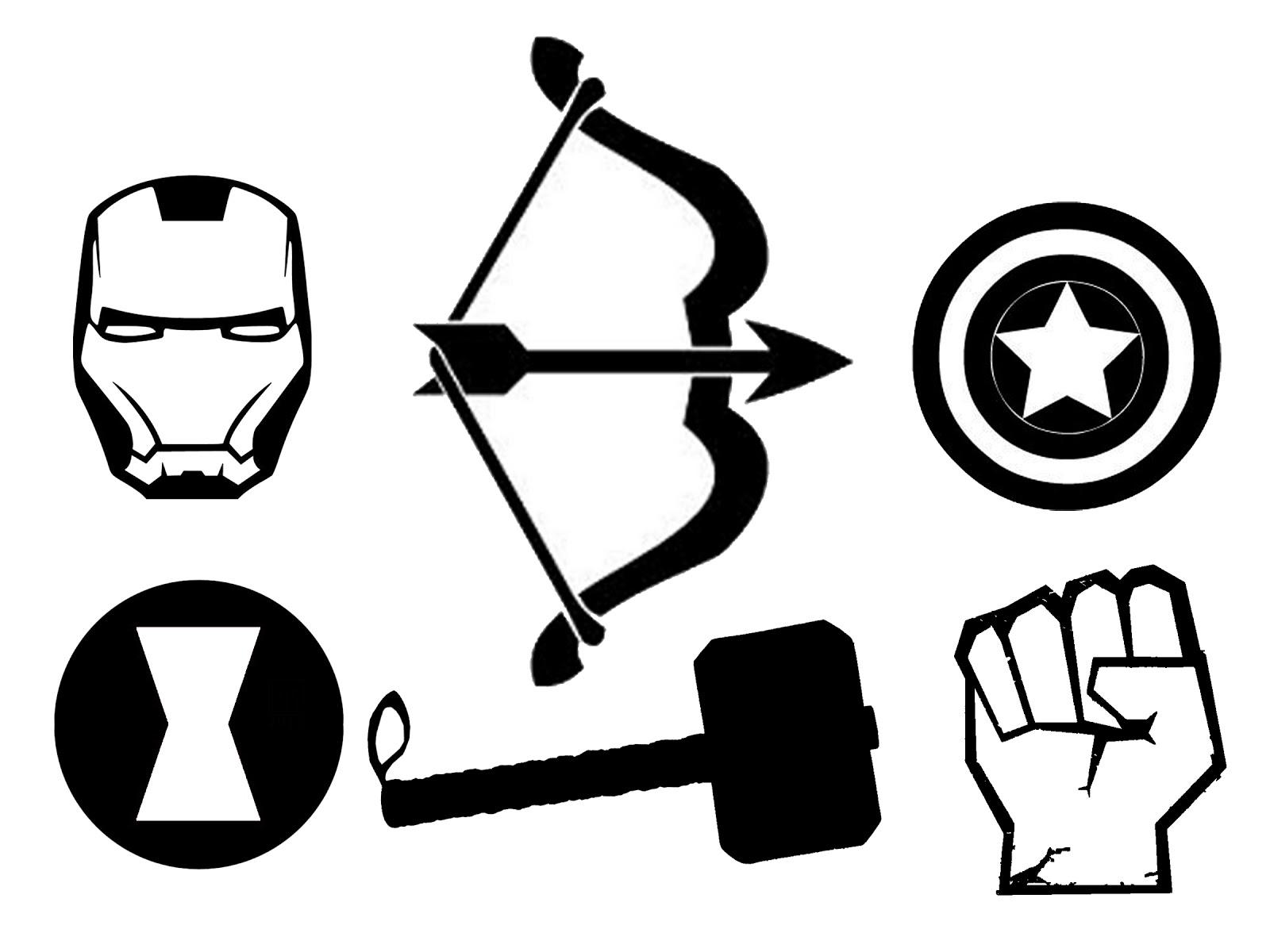 Hawkeye Logo Stencil.