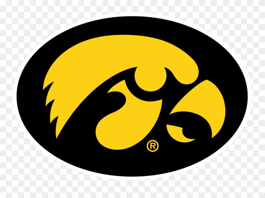 Iowa Hawkeyes Logo Png Clipart (#1534256).