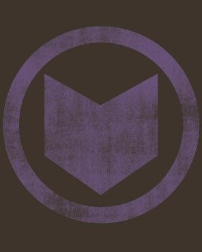 Marvel Hawkeye Distressed Logo T.