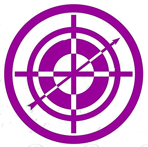 Amazon.com: MARVEL COMICS HAWKEYE LOGO VINYL STICKERS SYMBOL.