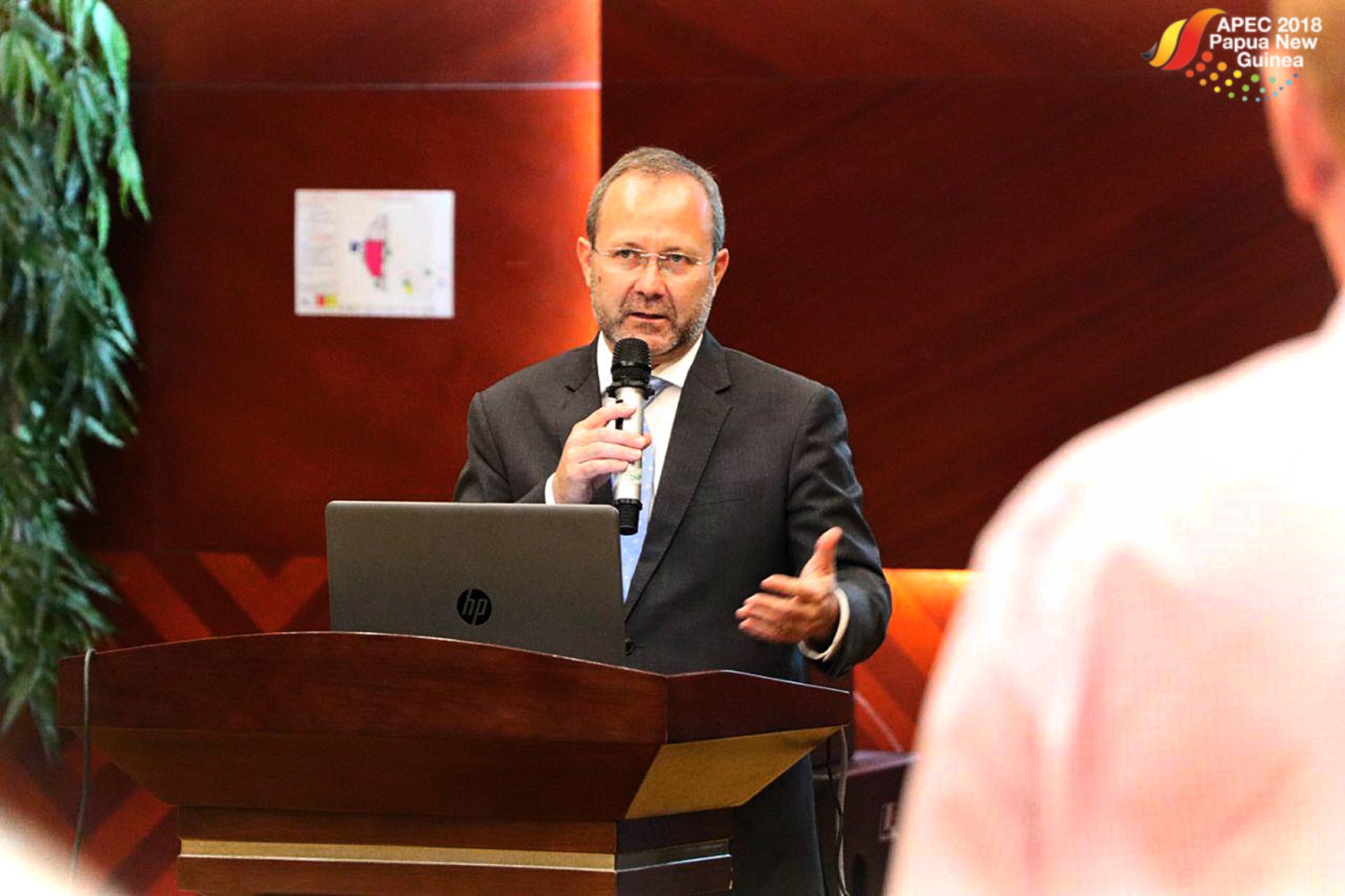 APEC CEO presents AELW plan.