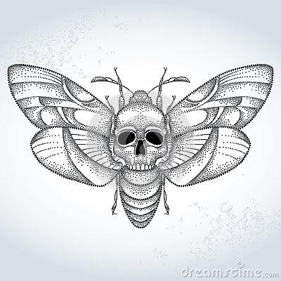 Clipart death head.