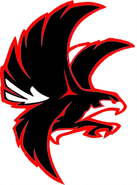 Red Hawk PNG clipart images free download.