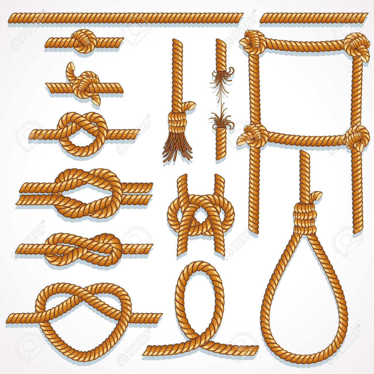 Rope Design Illustrations.