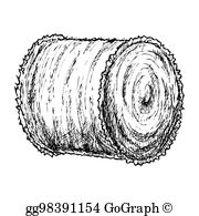 Hay Bales Clip Art.