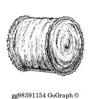 Hay Bale Clip Art.