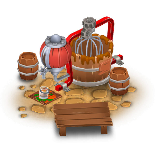Hay machine clipart #19
