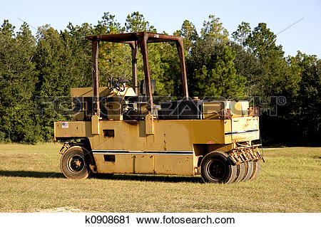 Stock Photography of Hay Roller k0908681.