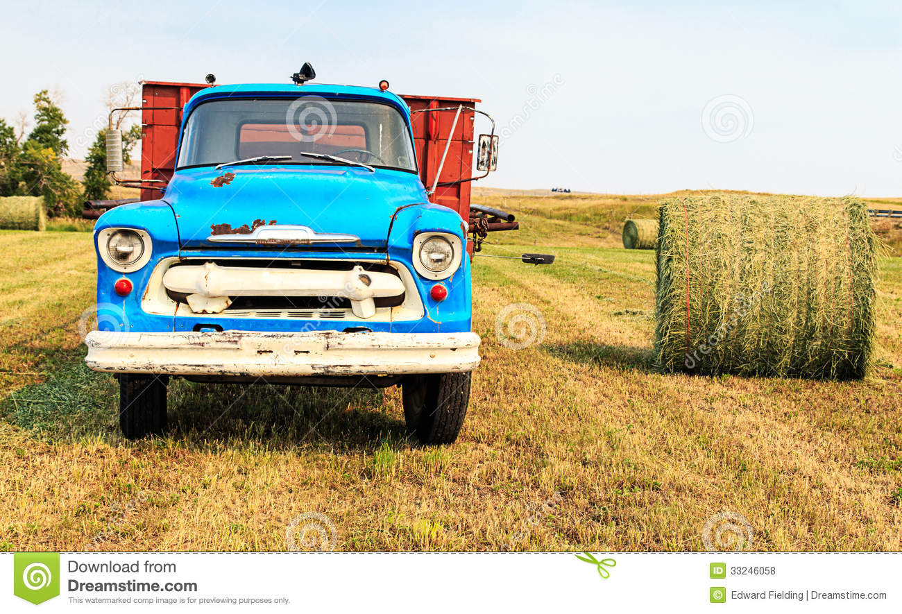 Old Hay Truck Stock Photos, Images, & Pictures.