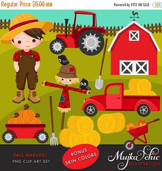 Red barns, Trucks and Party printables on Pinterest.