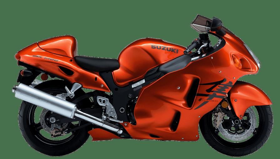 Suzuki Hayabusa Motorbike png image.