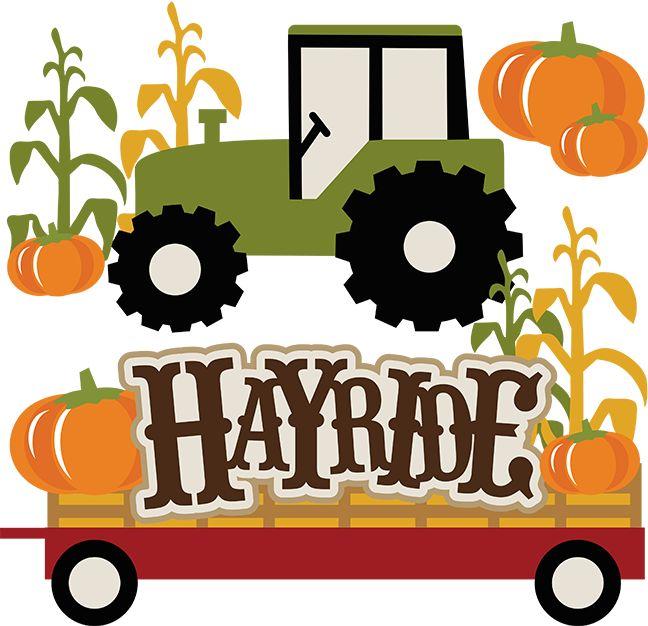 Hayride Free Clip Art.