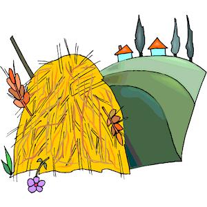 Haystack clipart, cliparts of Haystack free download (wmf, eps.