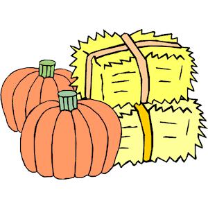 Haystack pumpkin clipart.