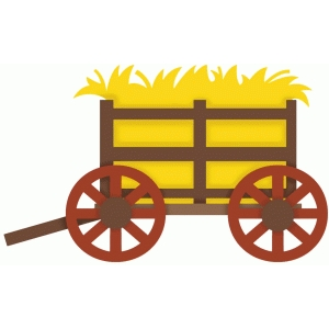 Hay Wagon Clipart.