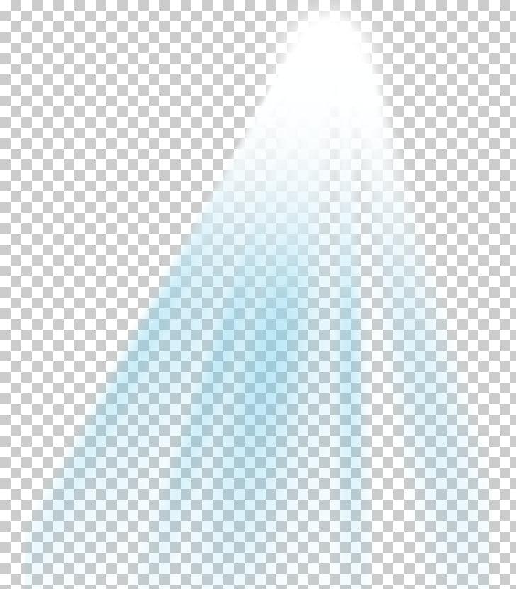 Ilustración de luz blanca y azul, patrón de eficacia.