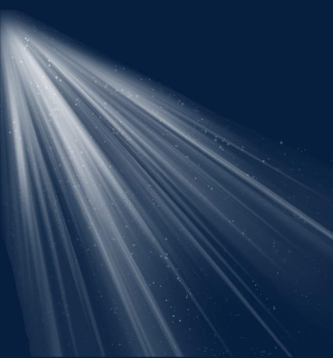 Haz de luz blanca PNG Clipart.
