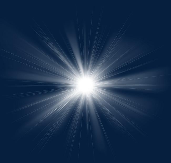 Haz De Luz Blanca Efecto De Luz Dinámica Imagen Png, Blanco, Beam.