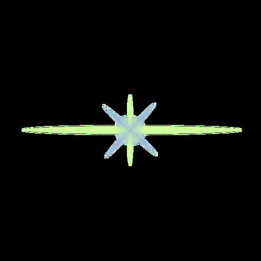 Parche de lente de punto de rayo de luz mancha de haz de luz.