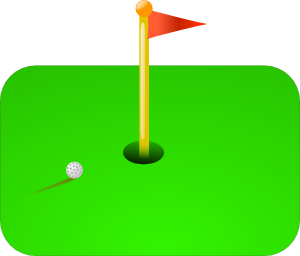 Miniature Golf with Hazak May 8, 2013.