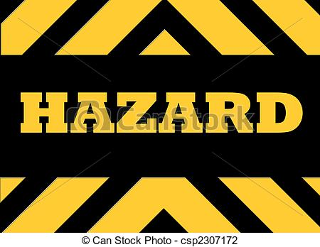 Hazards clipart #5