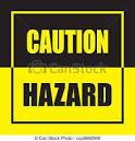 Hazard clip art.