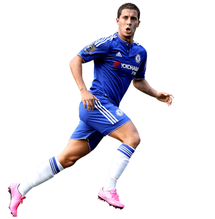 Eden Hazard Running transparent PNG.