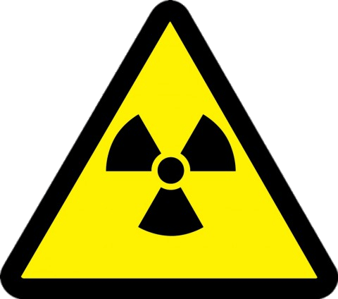 Radioactive Material Hazard transparent PNG.