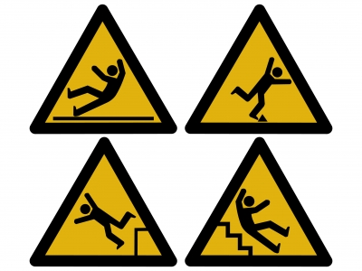 Workplace hazards clipart.