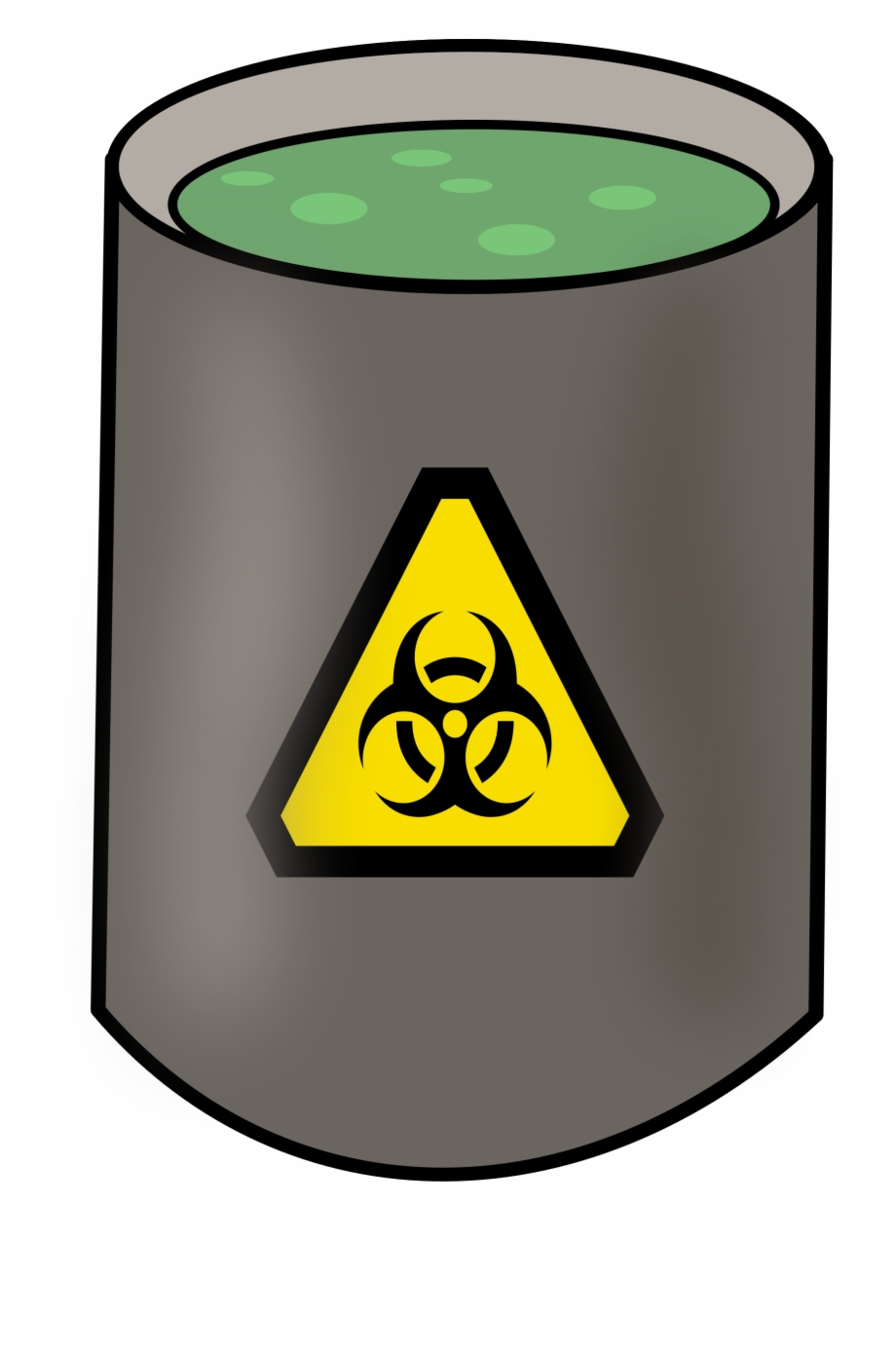 Slime Clipart Toxic Waste.