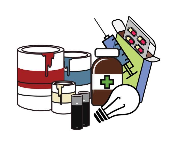 Hazardous Waste Clipart.