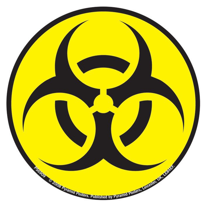 toxic waste symbol pictures.