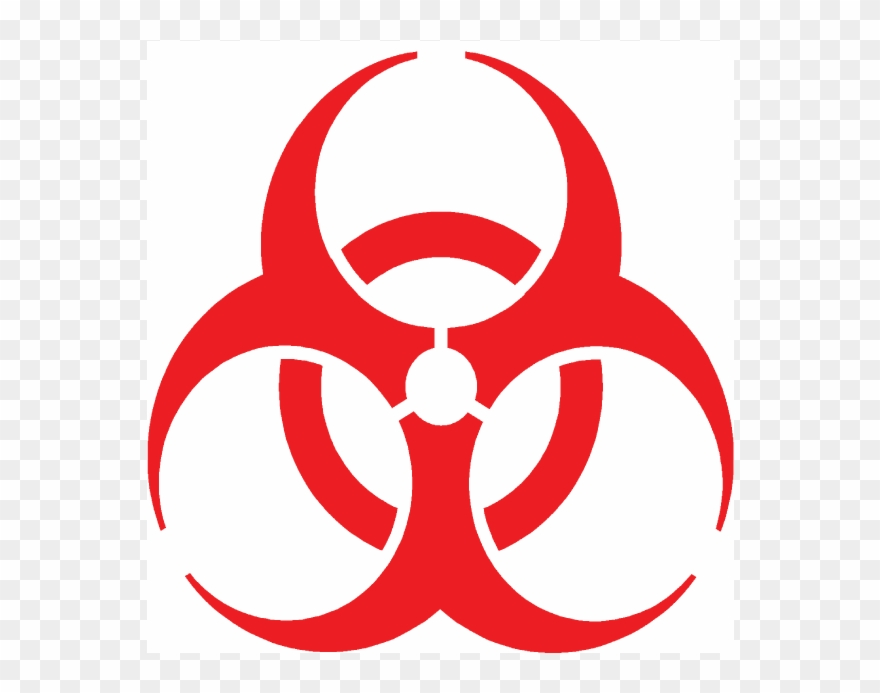Hazardous Waste Symbol Clip Art.