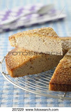 Stock Photograph of Hazelnut cake 207229.