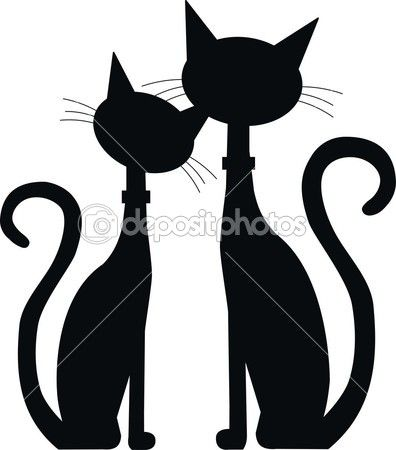 1000+ images about 1s Cat Silhouettes on Pinterest.