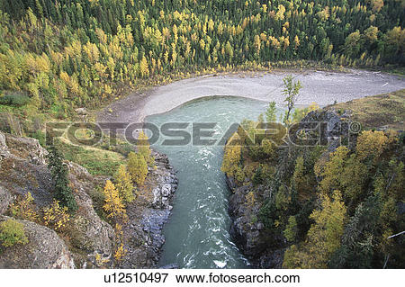 Picture of Skeena River near Hazelton, Hagwilget Canyon from.