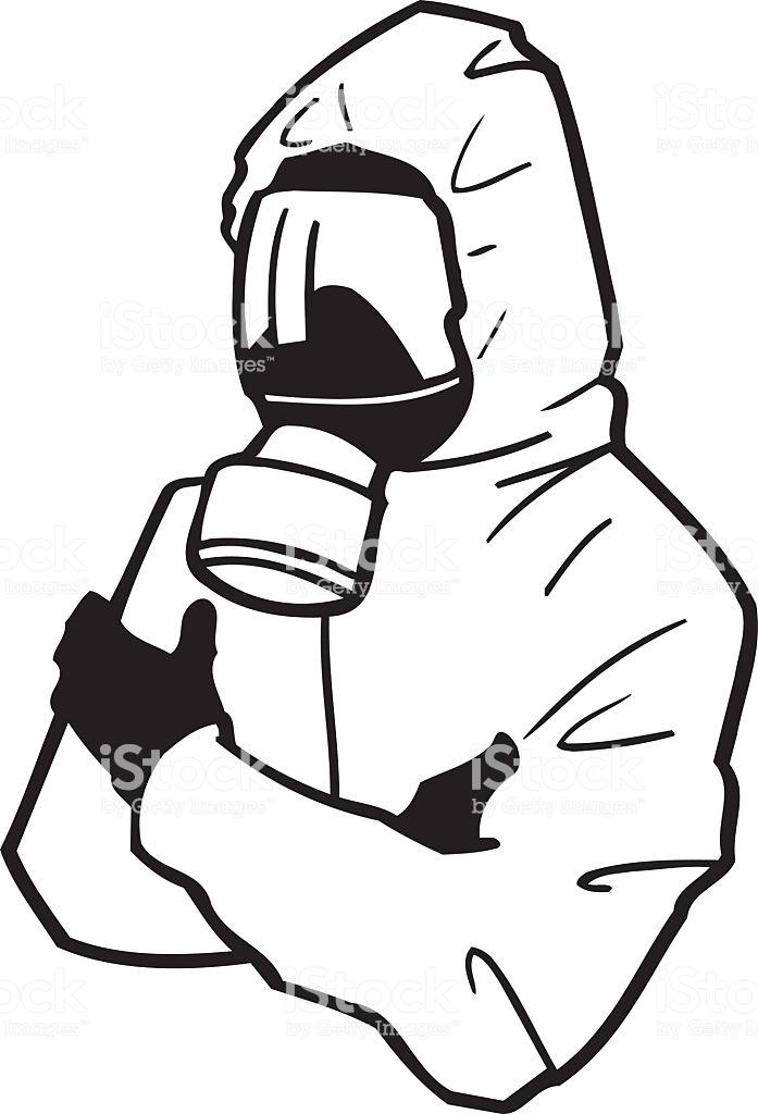 Hazmat suit clipart 6 » Clipart Station.