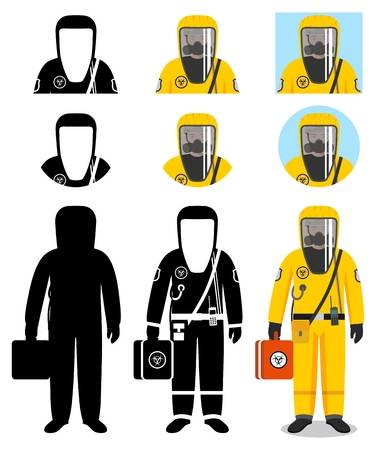 136 Hazmat Suit Stock Illustrations, Cliparts And Royalty Free.