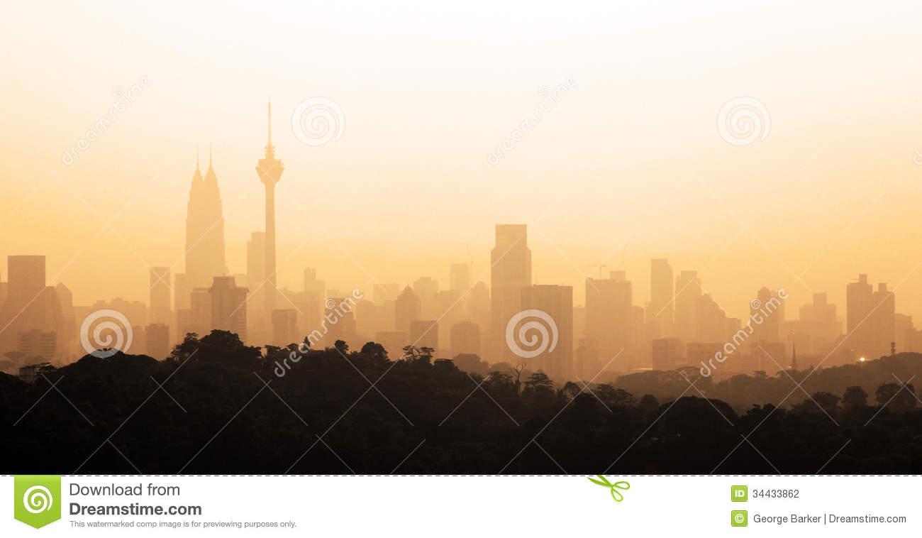 Cityscape Kuala Lumpur Stock Photography.
