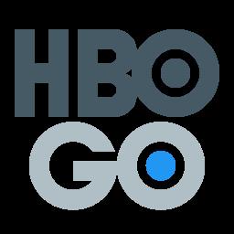 Hbo go Logo Icon of Flat style.