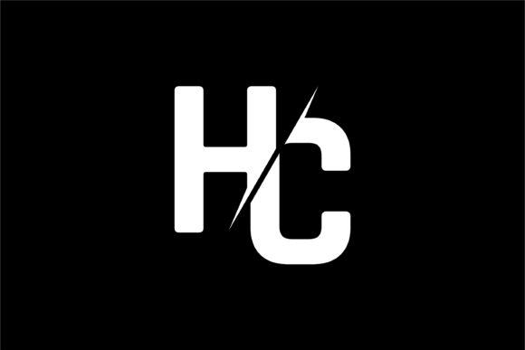 Monogram HC Logo Design.