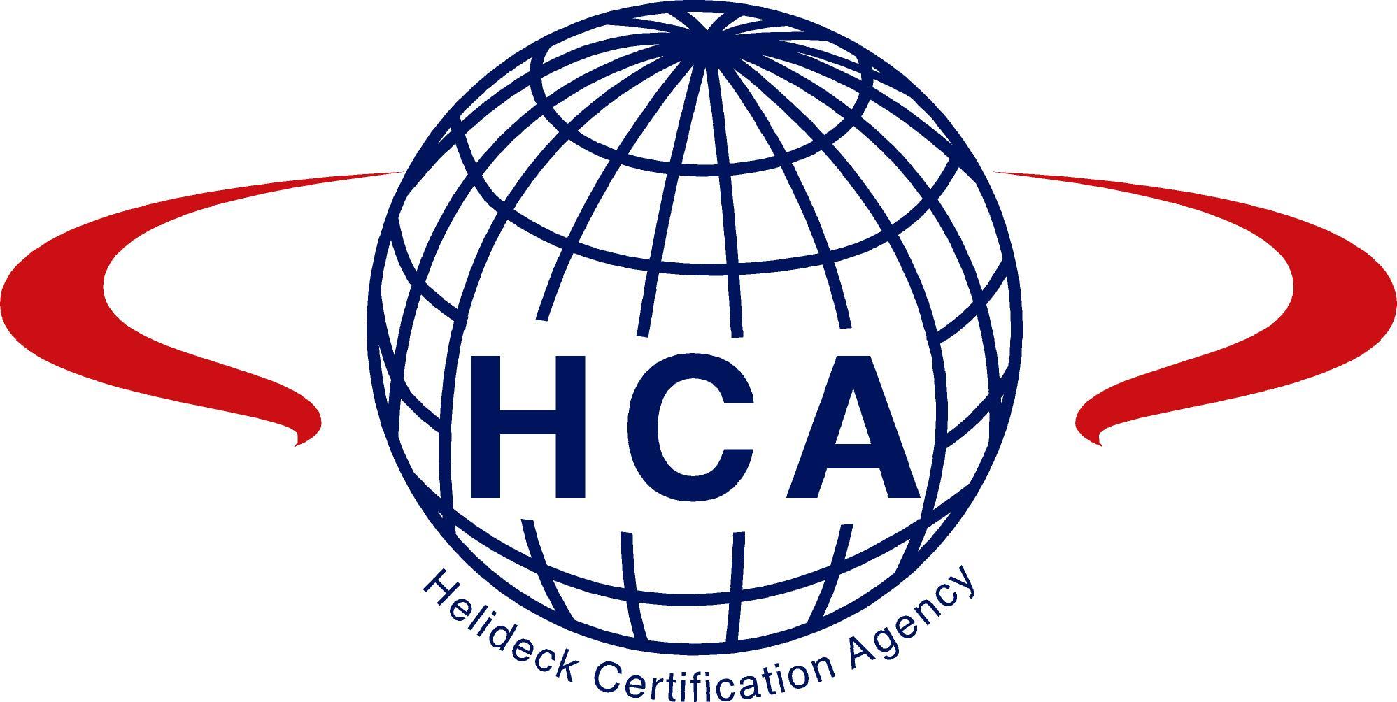 HCA logo.