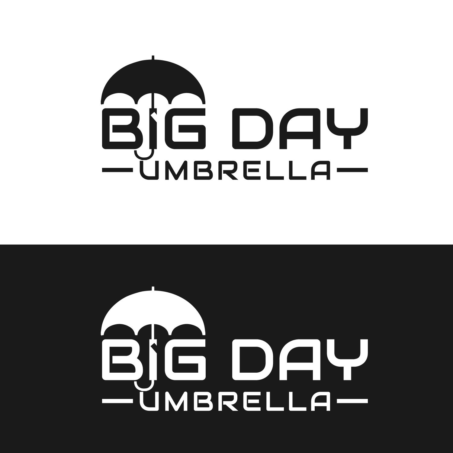 Logo Design for Big Day Umbrella (we want the image to be.