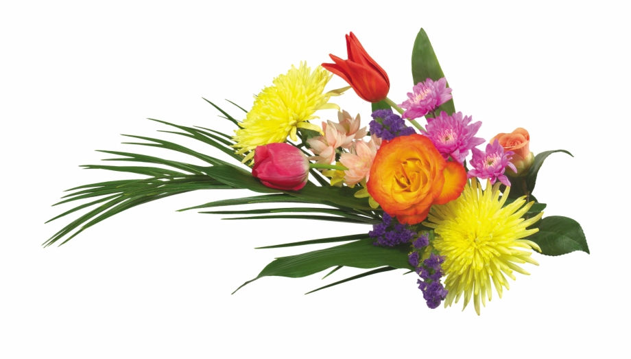 Bouquet Flowers Png.