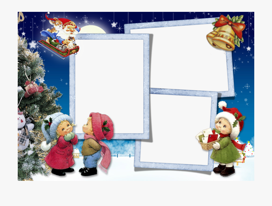 Transparent Clipart Image Christmas Picture Frame.