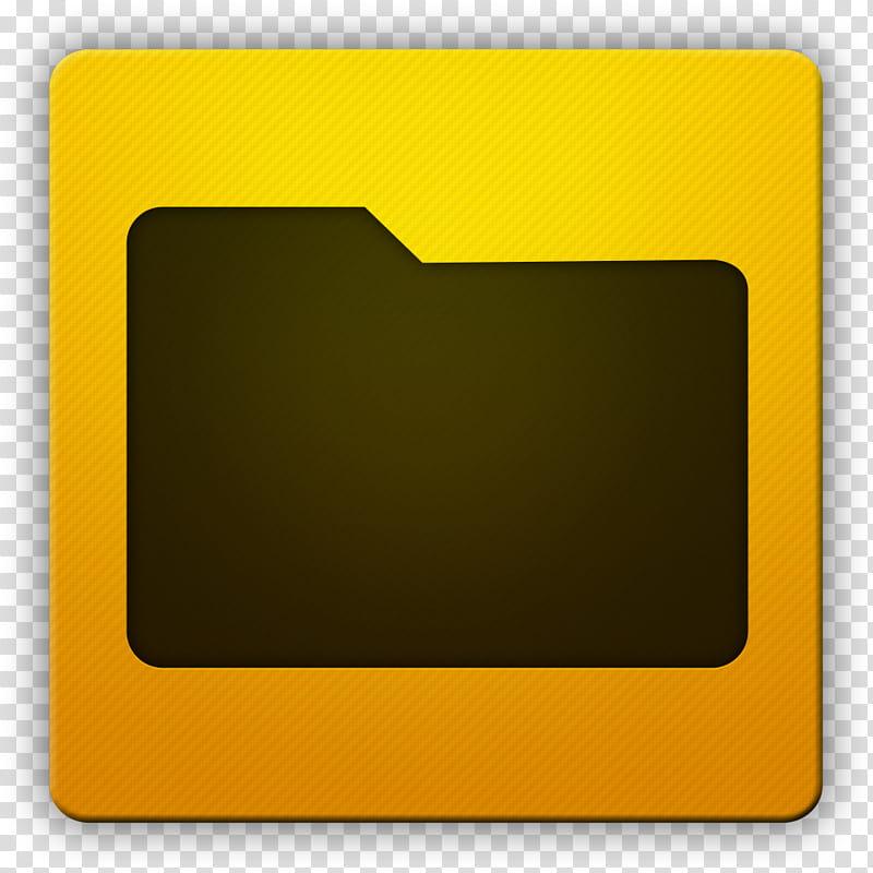 Clean HD Icon II, Folder, black file folder icon transparent.