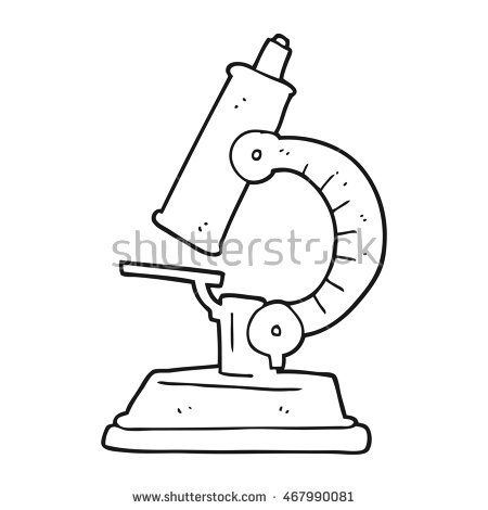 Microscope Drawing Stock Images, Royalty.
