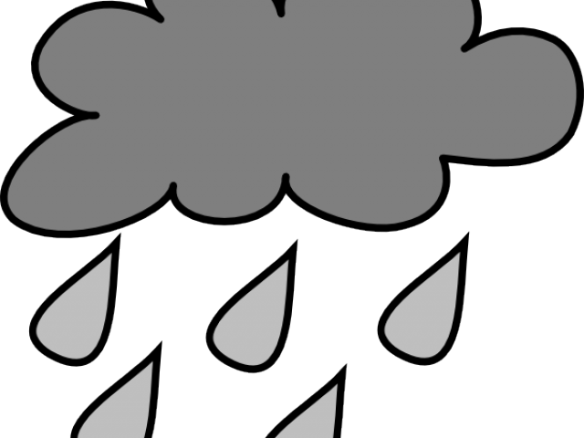 Download HD Rain Clipart Rain Cloud.