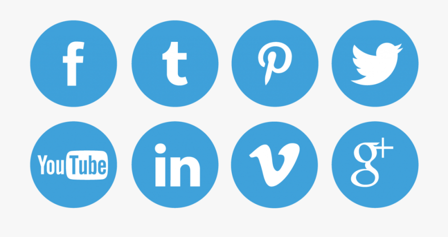 Social Icons Png Clipart.